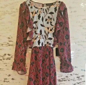 Eloquii Fall Dress size 24 plus size nwt